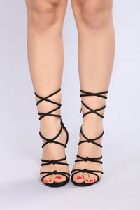 Tangled Up With You Heel - Black