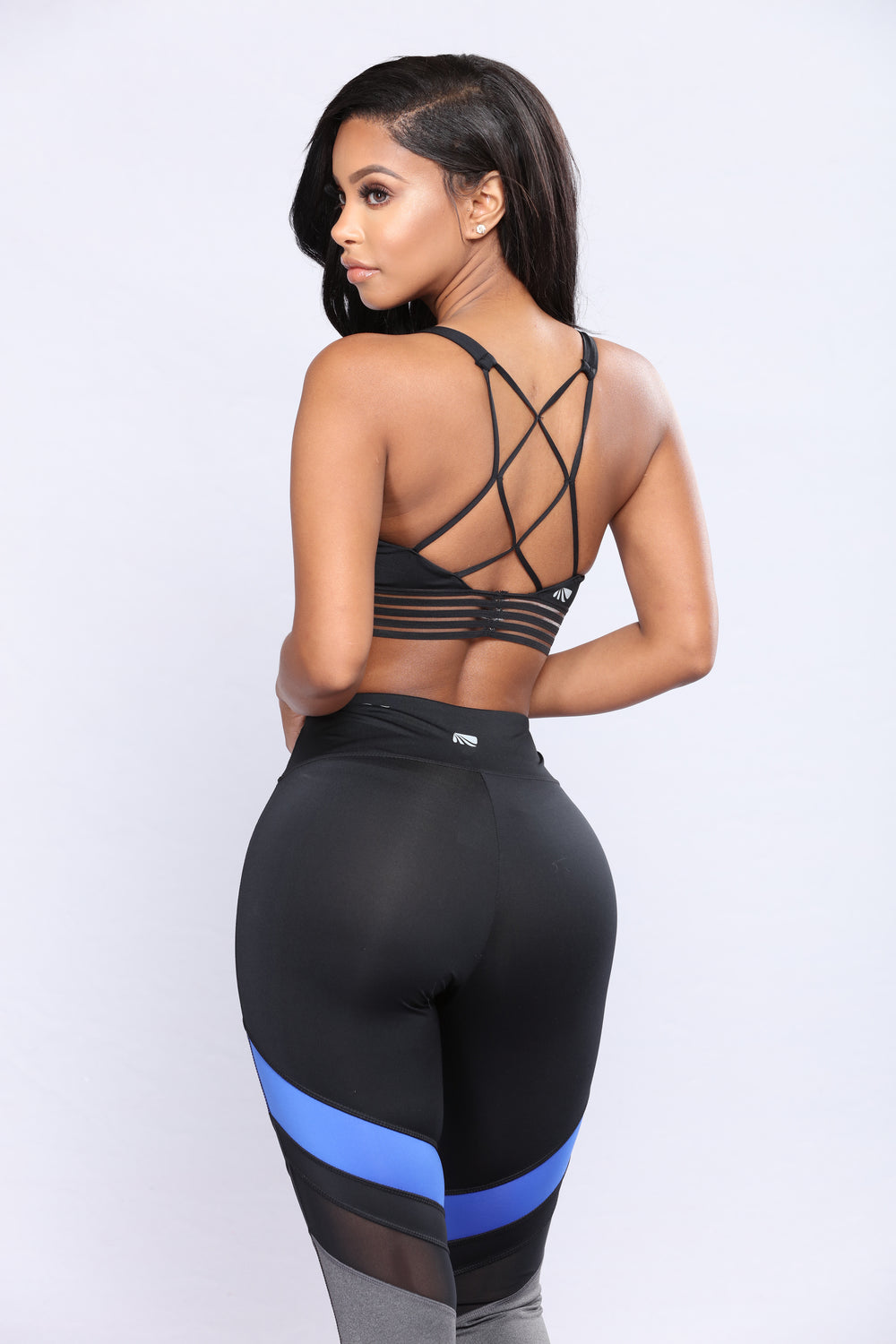 Paulina Active Leggings - Black Multi