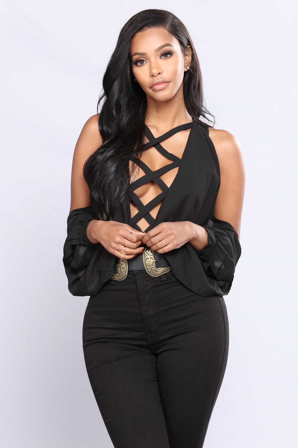 You Can Count On It Bodysuit - Black