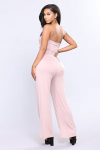 Well Being Tube Jumpsuit - Mauve