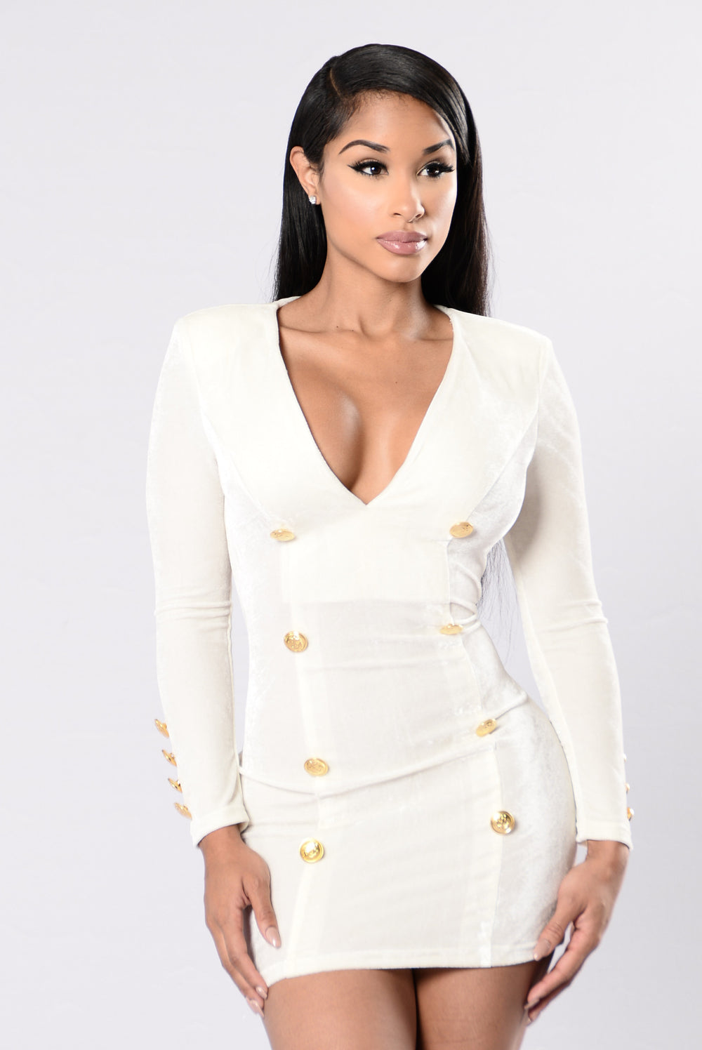 Set Sail Dress - Ivory