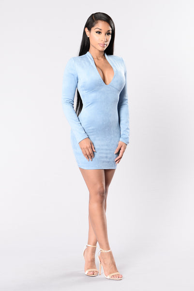 Feeling Amazing Dress - Chambray