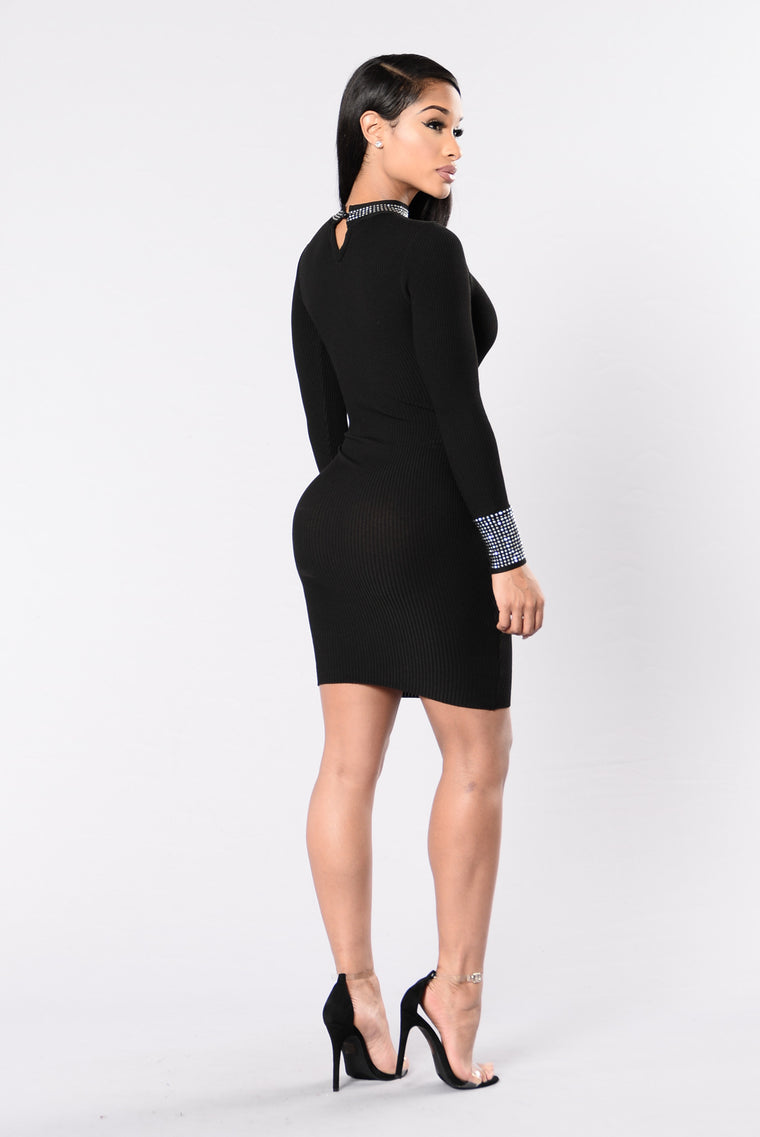 Crank It Up Dress - Black