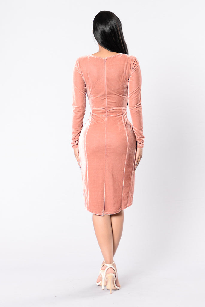 Endless Love Dress - Blush