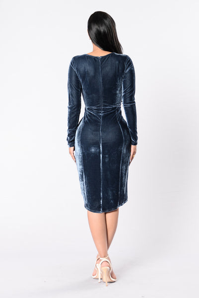 Endless Love Dress - Gun Metal