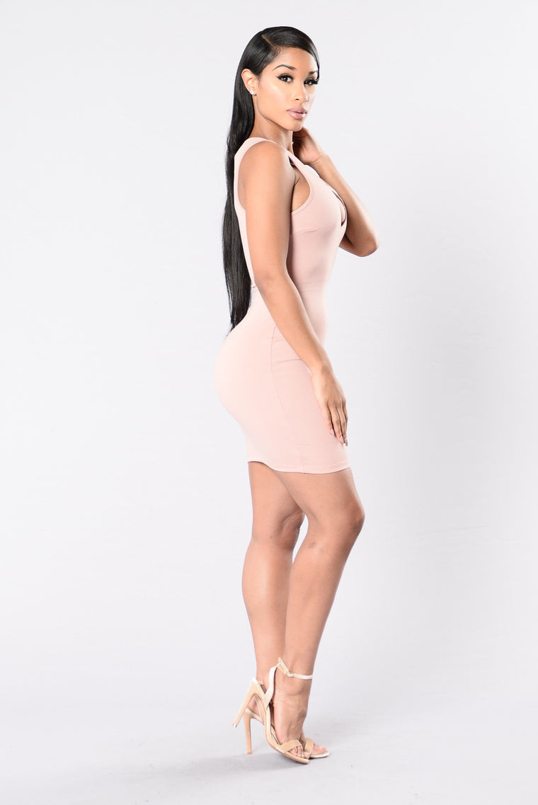Pretty Girl Rock Dress - Mauve