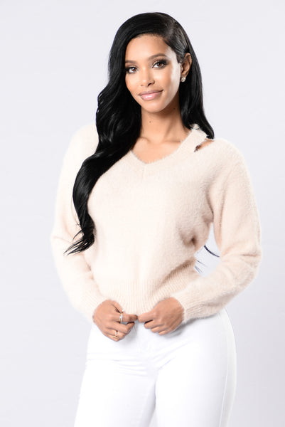 One Thing Sweater - Blush