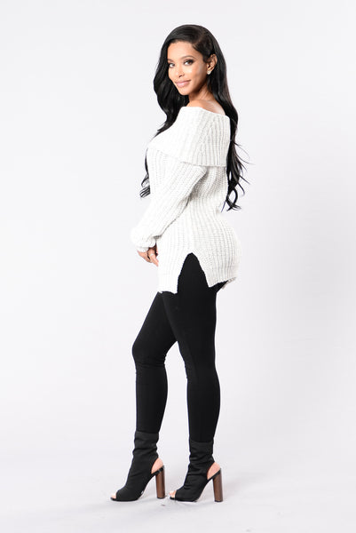 Jersey Girl Sweater - Off White