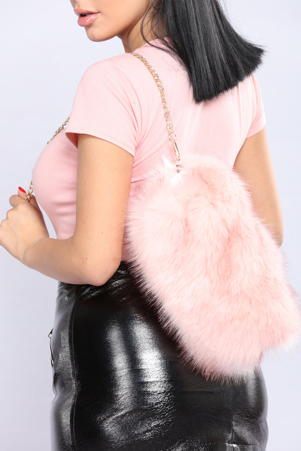 Furtastic Mini Crossbody - Pink