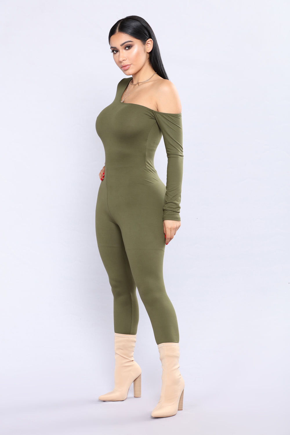 One Direction Jumpsuit - Olive