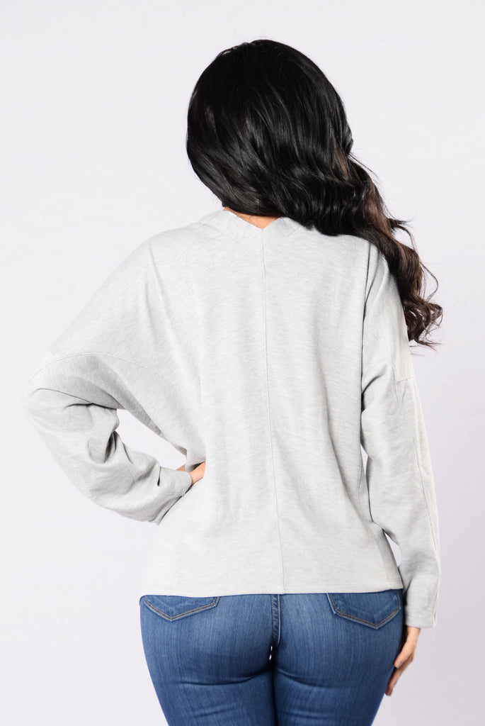 Til the Morning Sweater - Heather Grey
