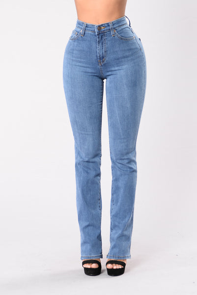 Step Out Of The Box Boot Cut Jeans - Light Stone