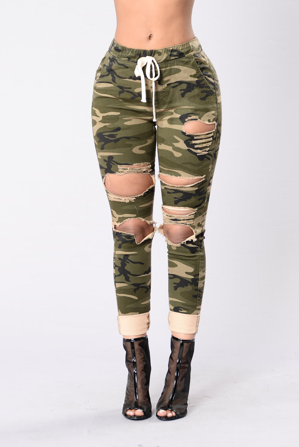 Been There And Back Jogger - Camo