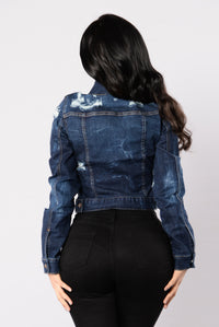 Kelly Denim Jacket - Dark