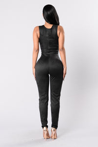 Not Yet Rated Jumpsuit - Black