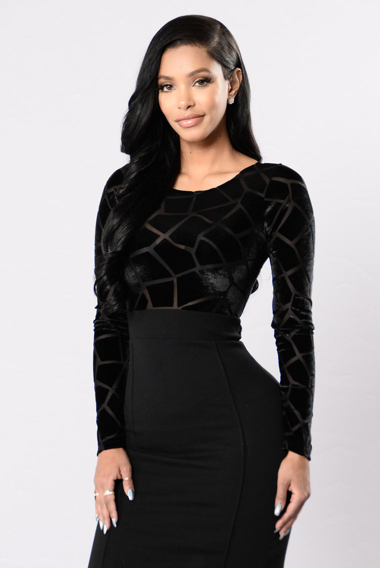 Shatter You To Pieces Dress - Black