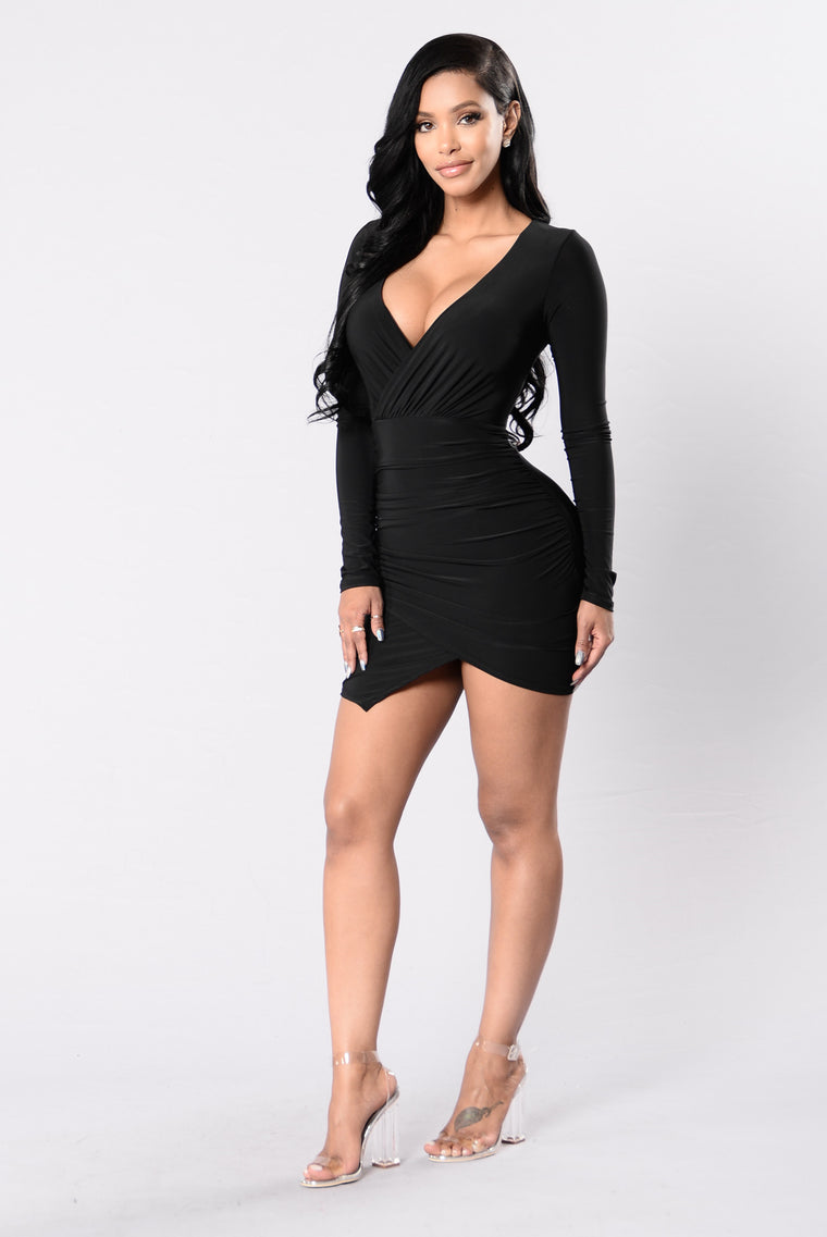 We've Got Tonight Dress - Black