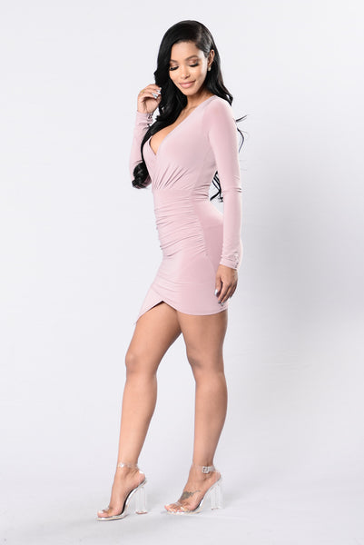 We've Got Tonight Dress - Mauve