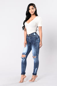 Intense Reaction Jeans - Dark Blue Angle 6