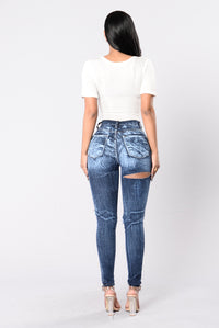 Intense Reaction Jeans - Dark Blue Angle 5