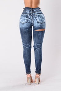 Intense Reaction Jeans - Dark Blue Angle 3