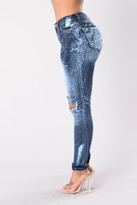 Intense Reaction Jeans - Dark Blue Angle 4