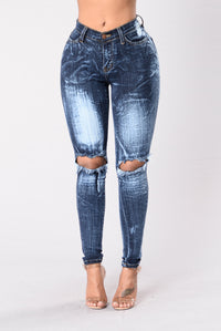 Intense Reaction Jeans - Dark Blue Angle 1