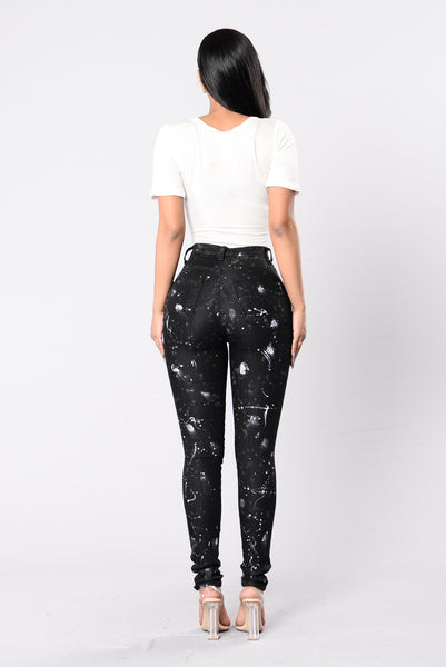 Explicit Jeans - Black/White