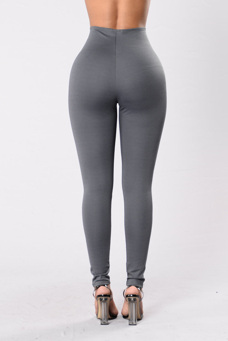 Just What I Needed Pants - Grey