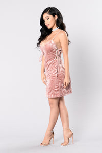 Ruth Dress - Mauve