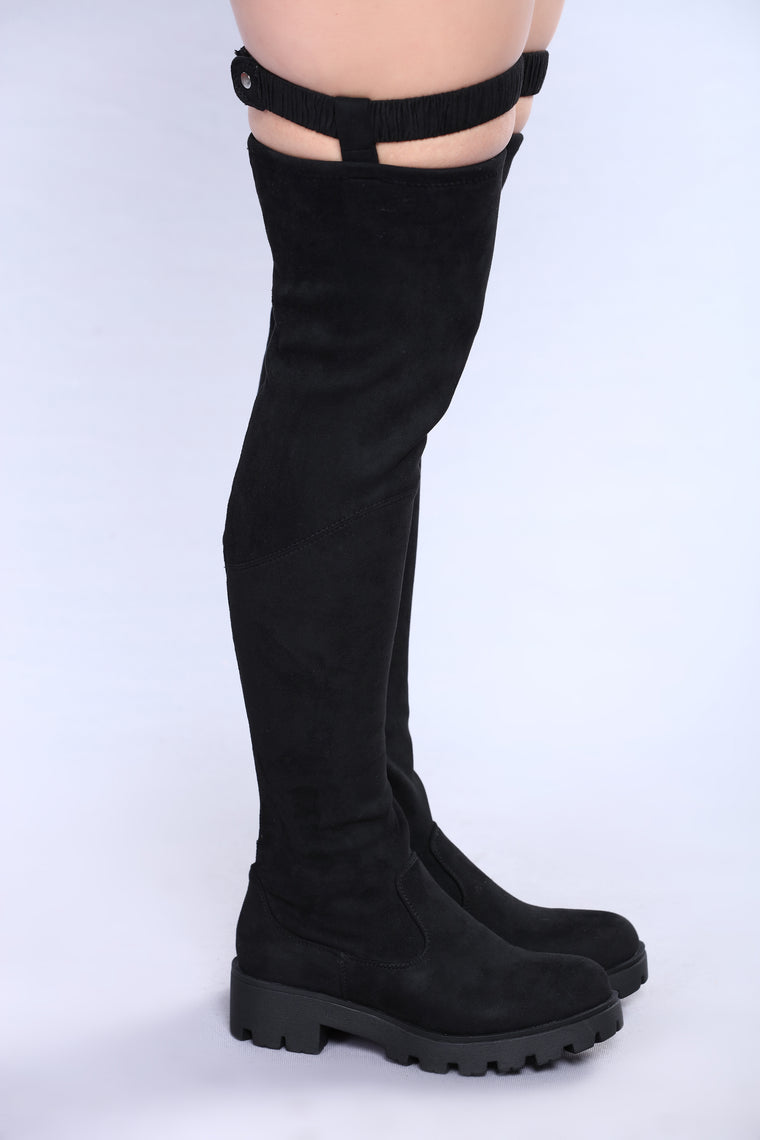 Melissa Over The Knee Boot - Black