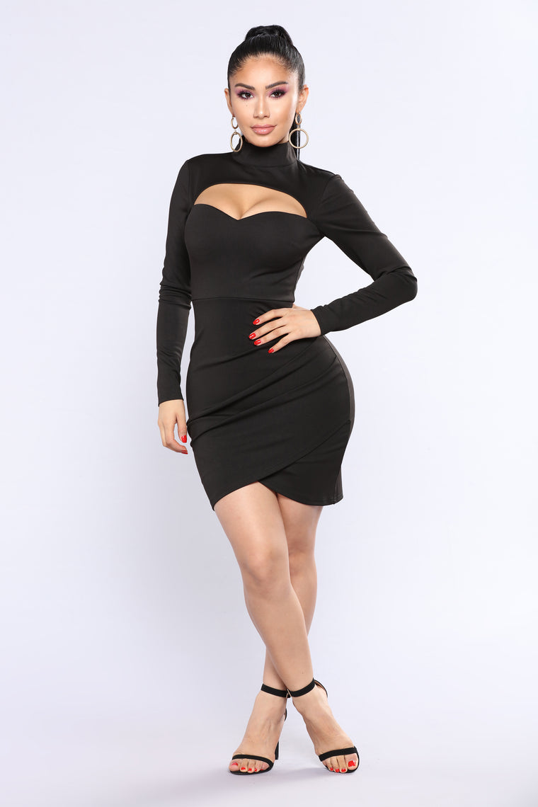 Martini Please Dress - Black
