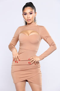 Martini Please Dress - Dark Tan