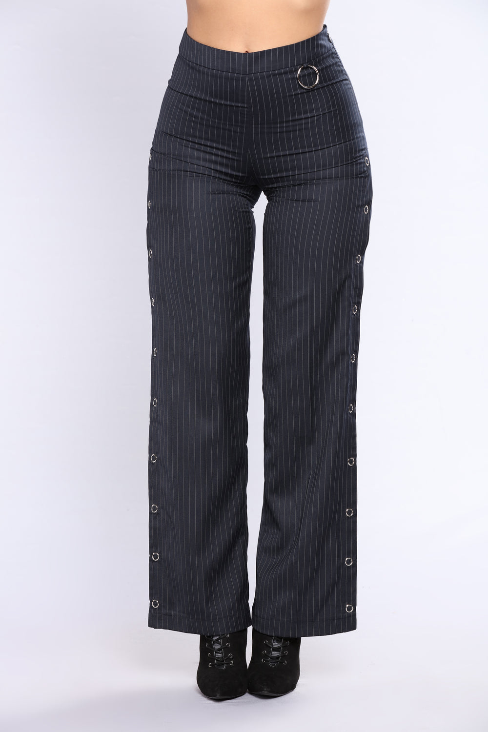 Pin It On Me Pants - Dark Navy