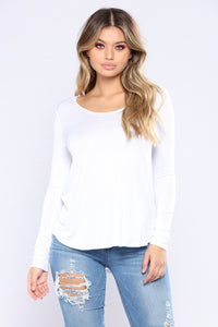Sarita Basic Top - White