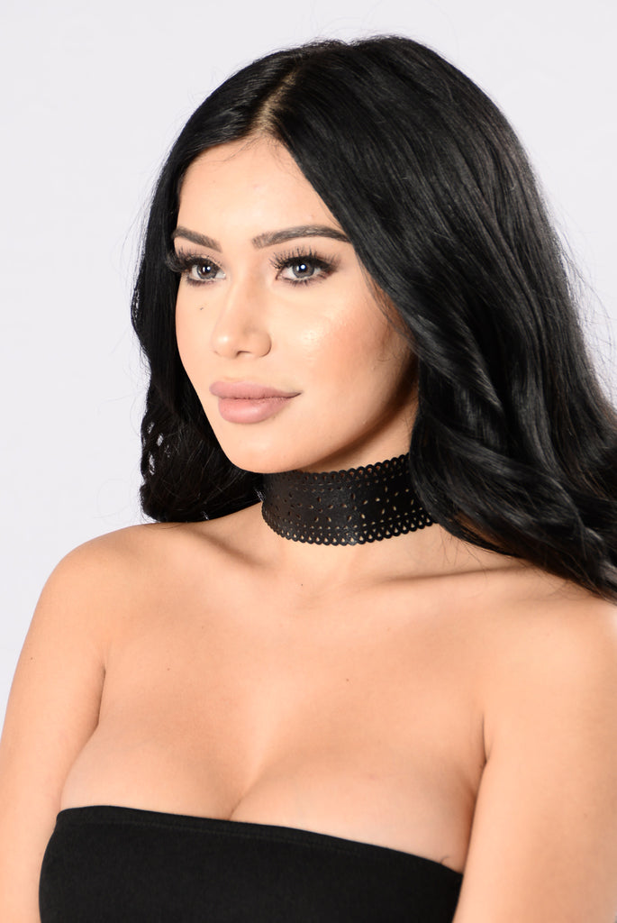 Cut To The Chase Choker - Black