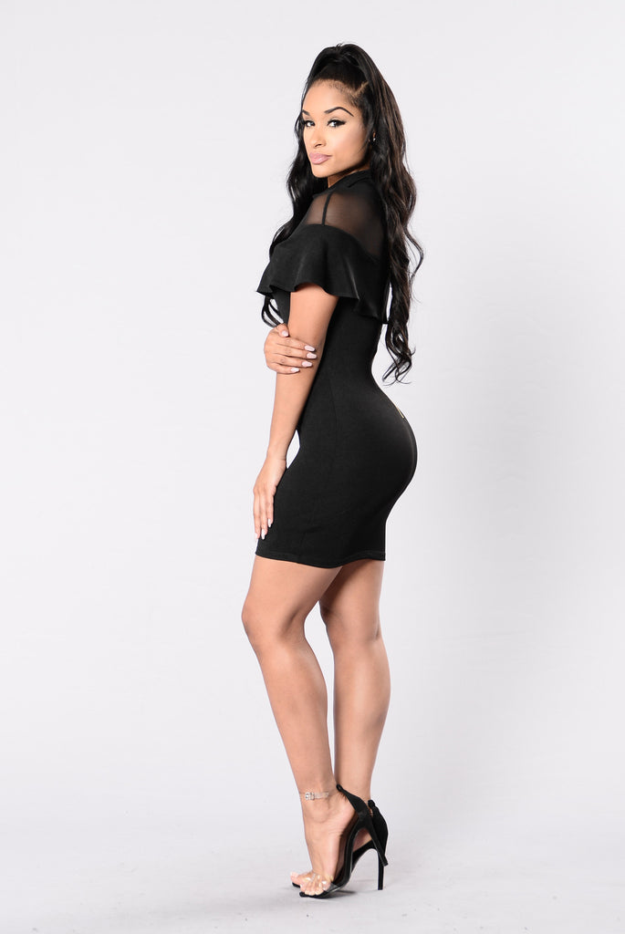 Spectrum Dress - Black