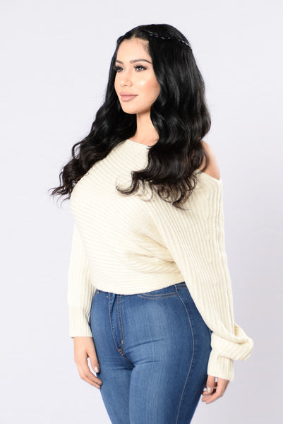 Off Balance Sweater - Ivory