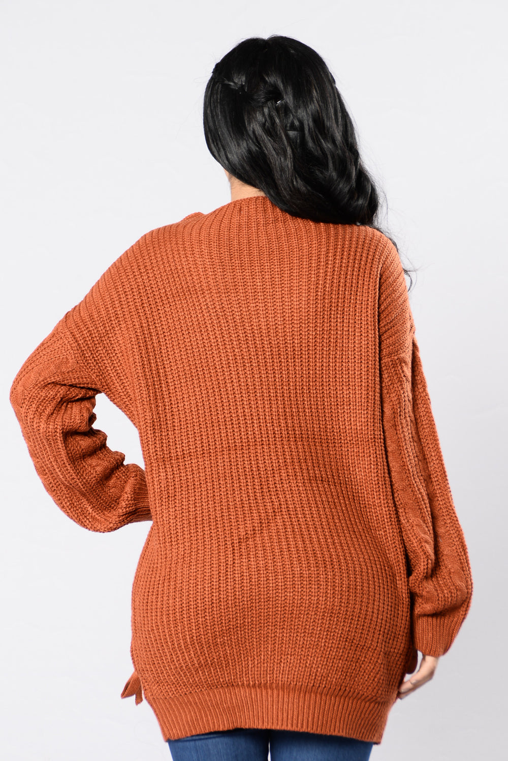 The Formula Sweater - Brick