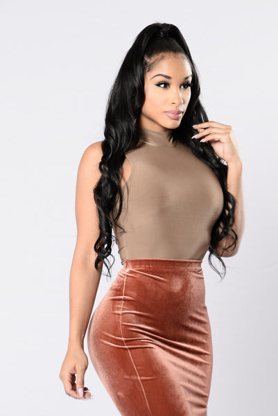 After Thought Bodysuit - Mocha