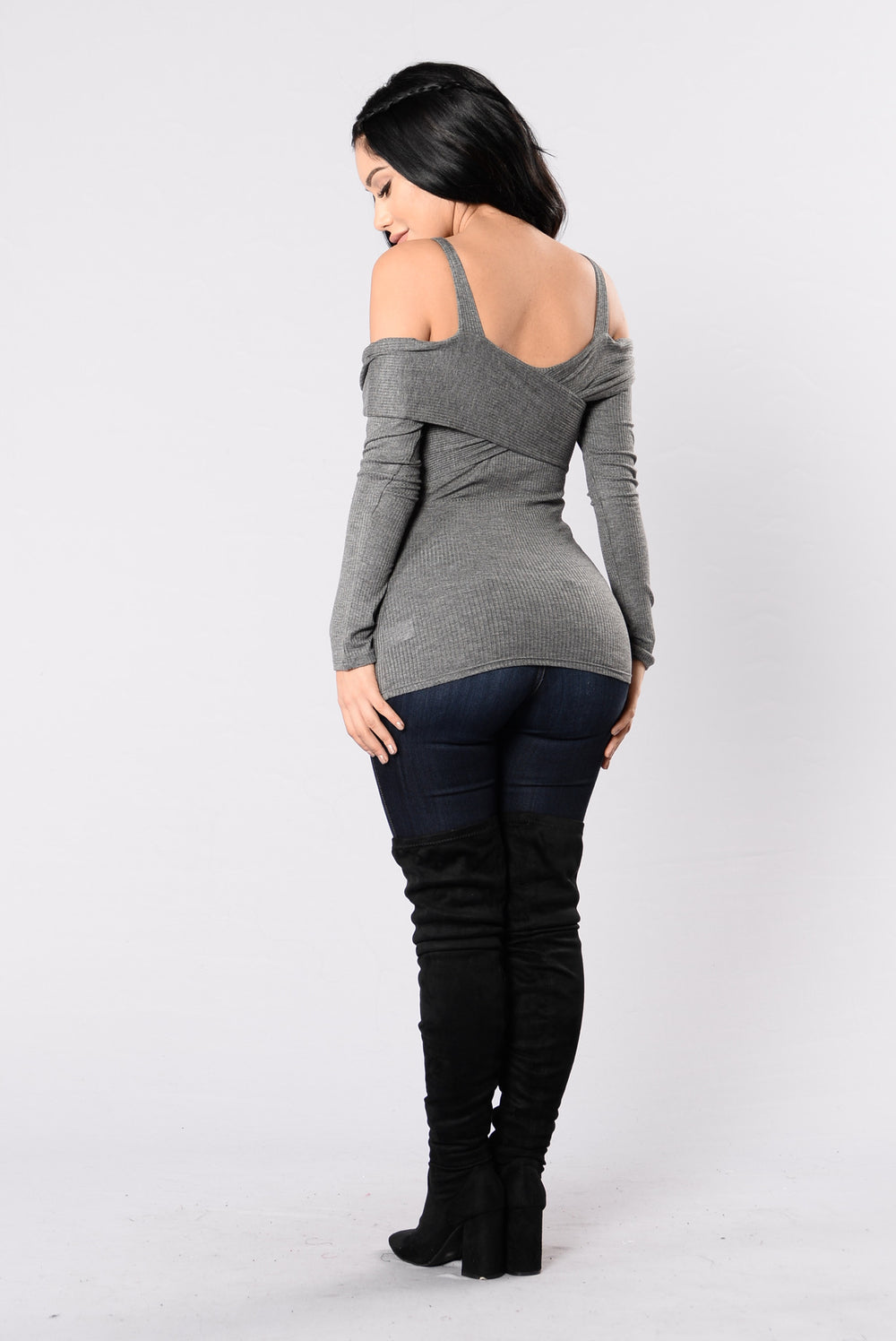 Test Of Time Top - Heather Grey