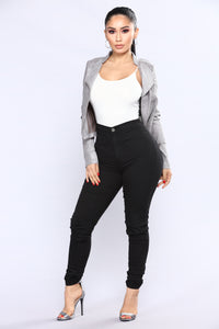 Persuede Me Jacket - Grey Angle 2
