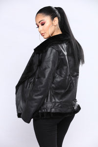 Soho Moto Jacket - Black
