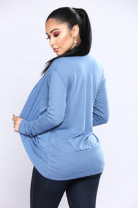 Yasmine Cardigan - Denim