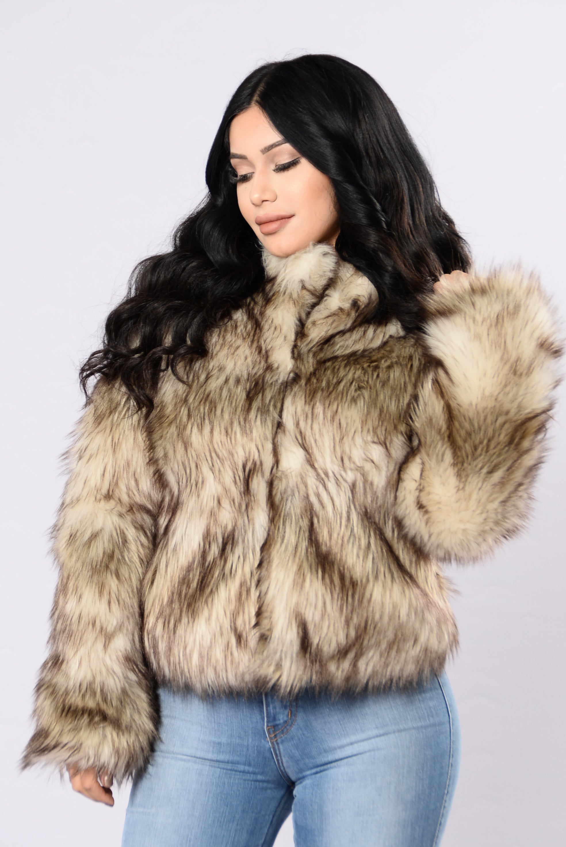 Fernanda Fur Coat - Natural