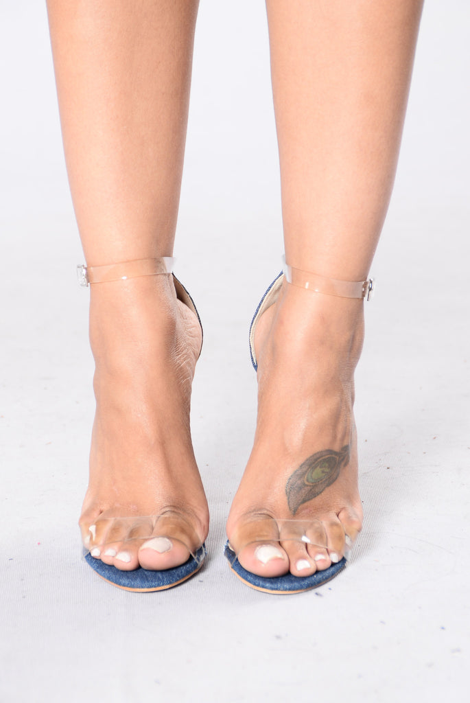 She's A Winner Heel - Denim