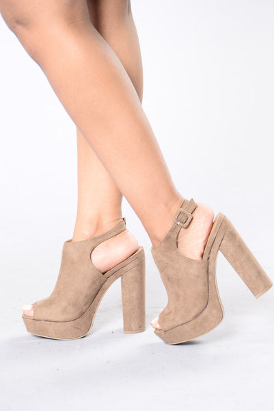 Sudden Break Heel - Taupe