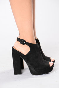 Sudden Break Heel - Black