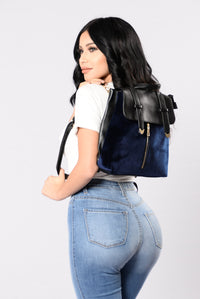 Baby Boo Backpack - Navy