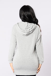 In The Bushes Top - Heather Grey